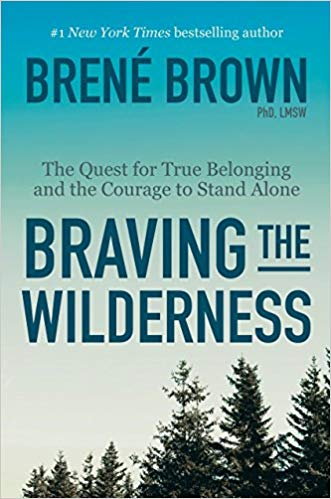 Brene Brown is amazing. This book wasn't my favorite of hers but I liked it. It's about being alone and I am very good alone. -