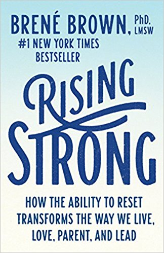 I liked this Brene Brown book better. It's about standing up and changing how we see and react. I really do love her books and Ted Talks -