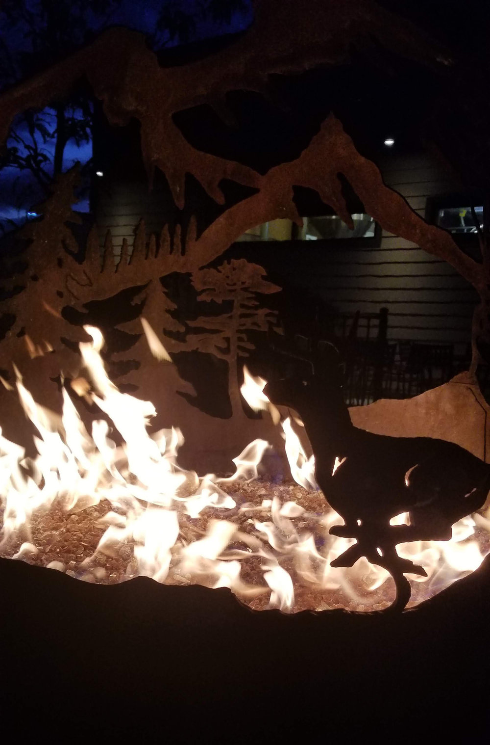 Patio fire at Canyon River Brewery in Billings, Montana