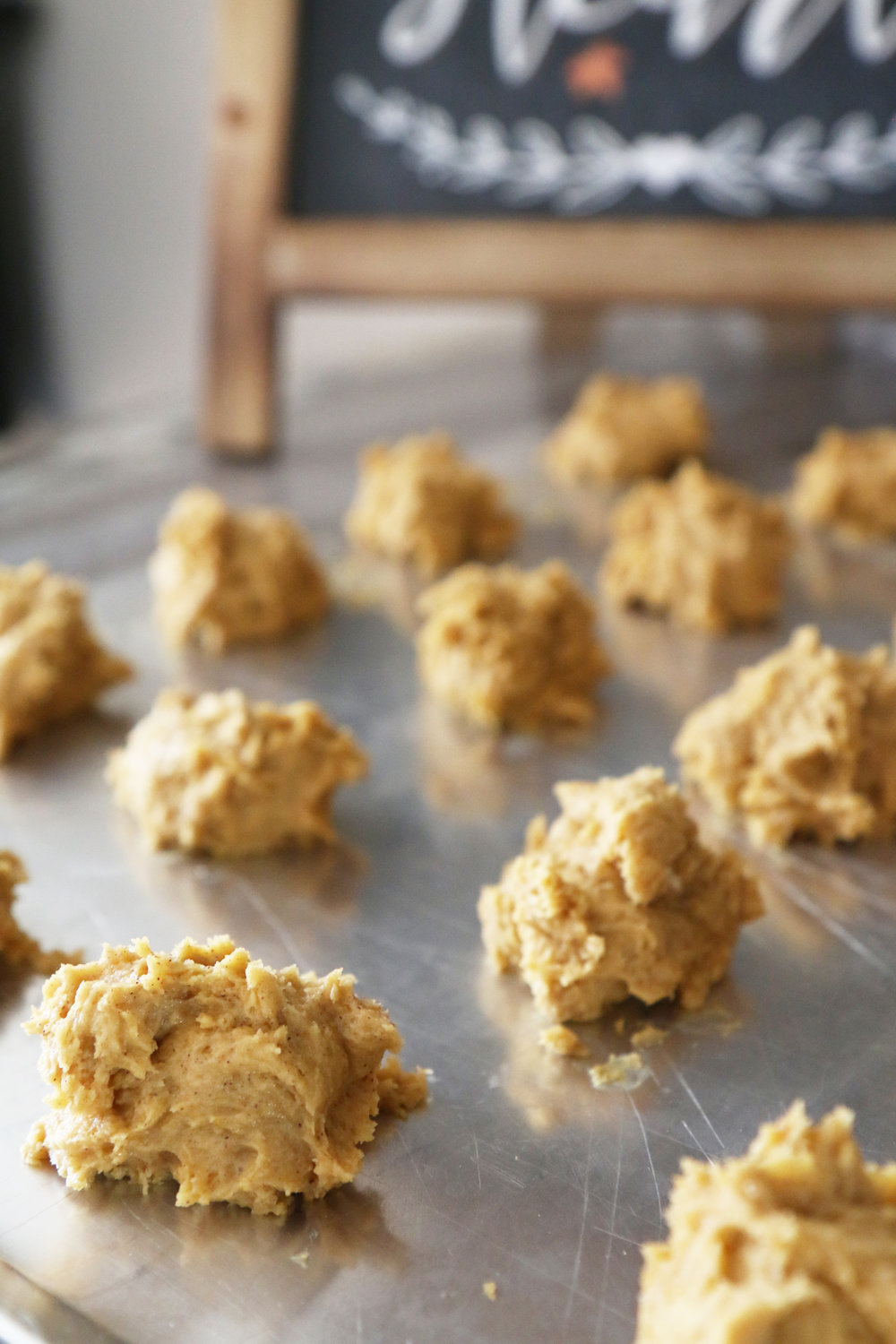 The Most Amazing and Delicious Iced Pumpkin Spice Cookies