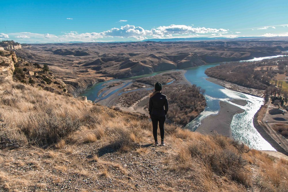 Four Dances Trail and Recreational Area is a 2.6 mile loop trail located near Billings, Montana. The trail is rated as moderate and primarily used for hiking and trail running. Dogs are also able to use this trail but must be kept on leash.