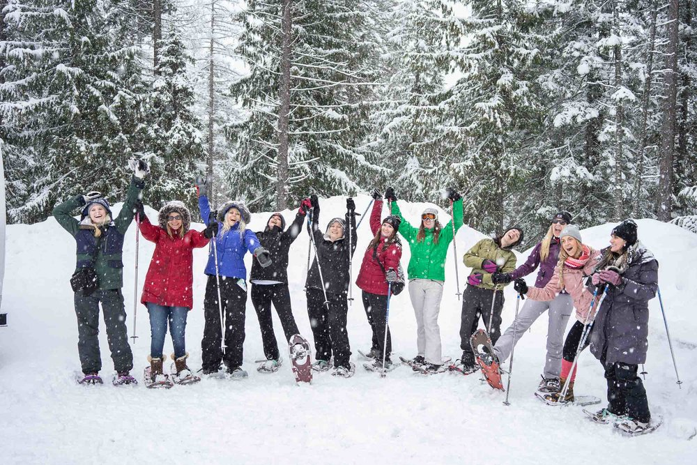 Snowshoeing tips and tricks at Whitefish Resort, Montana