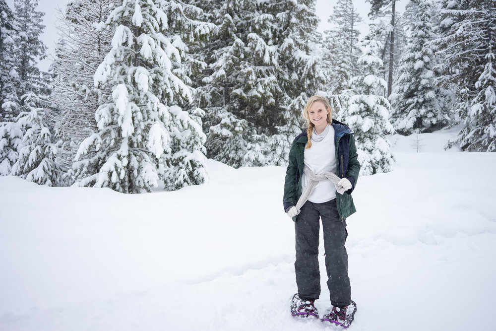 Tips and tricks on snowshoeing