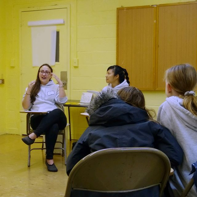 Today, HFZ joined the Reform Temple of Forest Hill's Mitzvah Day. We talked with 7th graders about how to use their relative privilege (class, race, physical and mental ability, age) to support others in our communities. One young person reflected on the call to be kind, seeing as we never know what a person may be going through at any given time. #LoveYourNeighbor #LoveYourself #LoveAndProtectEachOther