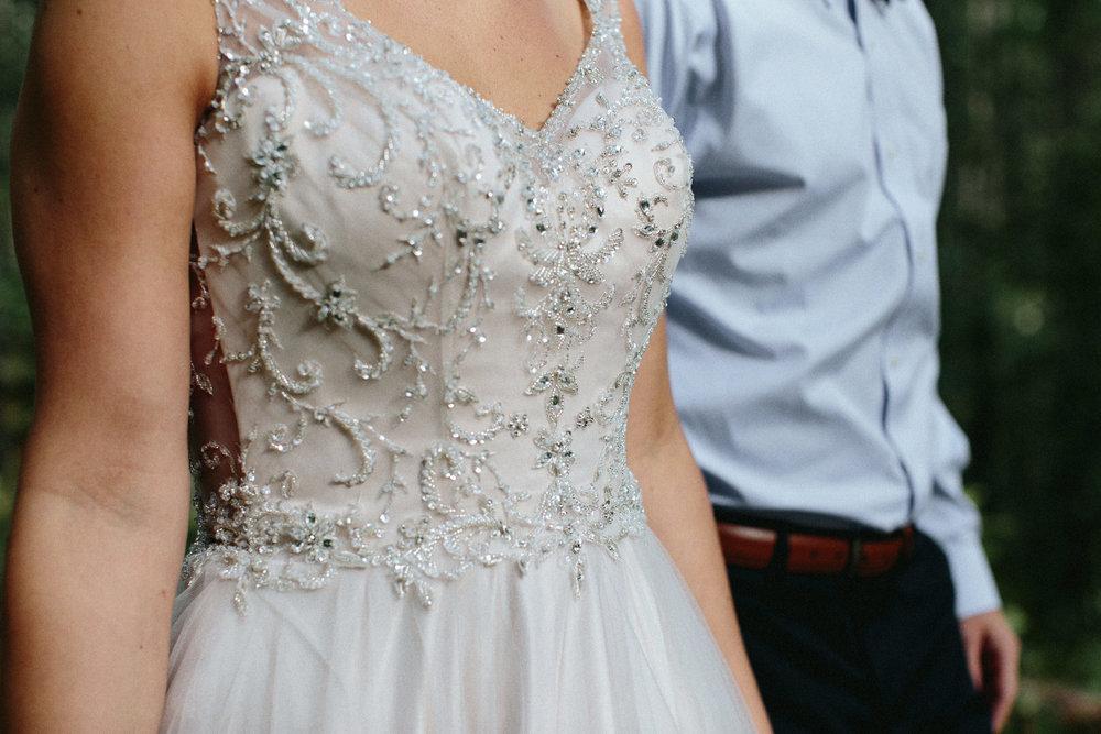 brides bodice