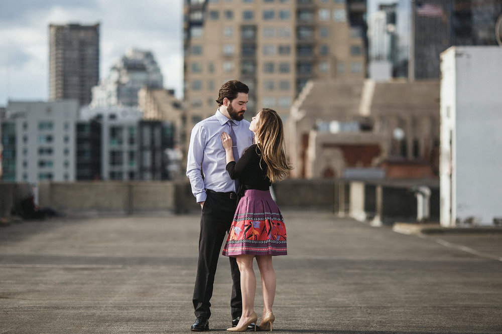 seattle engagement photo session