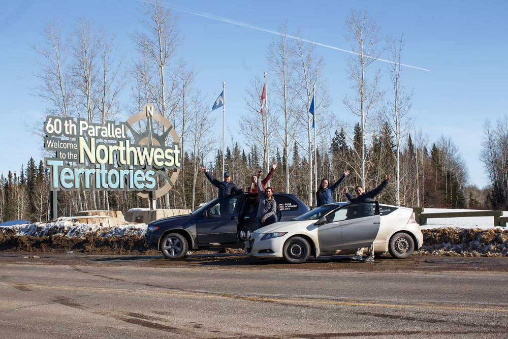 Team Panamera reaches the Northwest Territories