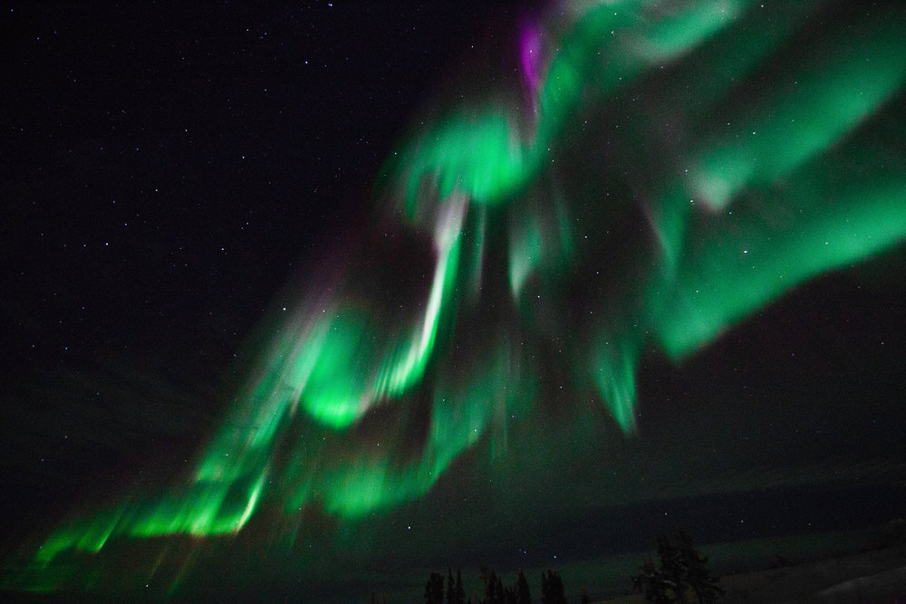 northern lights in northwest territories