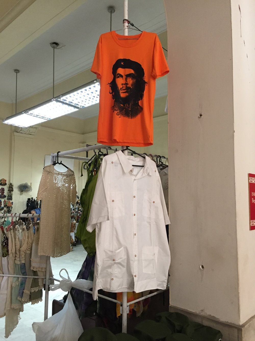 """Che"" Guevara's image is far more iconic in Cuba than Fidel's is. Ironically, or not, there are more retail opportunities in the museum dedicated to the revolution than can be found in a radius of several blocks in downtown Havana."