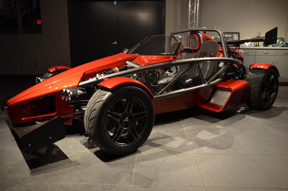 Ariel Atom 3S (Pearl Red/Gun Metal Chassis)