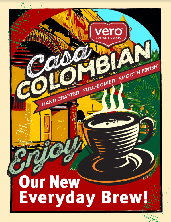 Coming soon. - Our new house blend comes from a single estate located in the ideal climate for Arabica development, this organic coffee from the Tolima region of Colombia features a full body and silky texture with sweet notes of milk chocolate, orange and toffee.