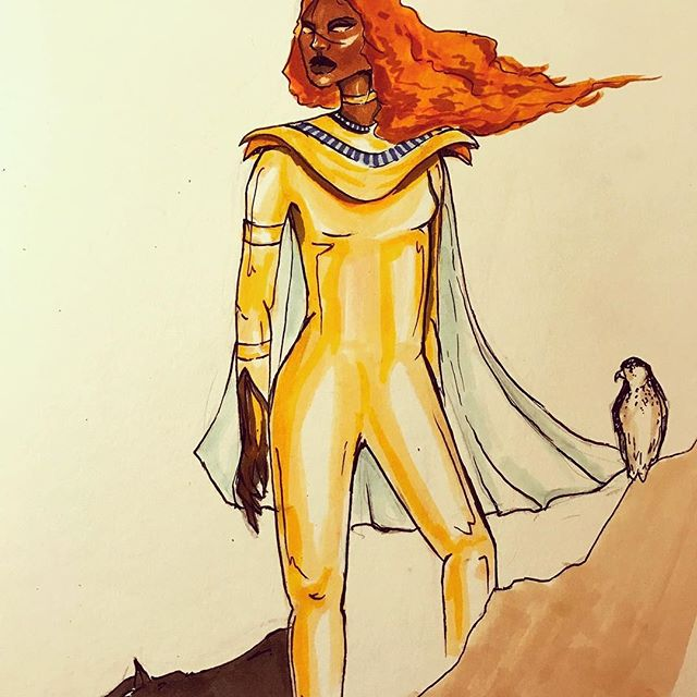 This a concept of one of the characters we're working on at the moment #fantasticdimensionseries#comics#heroes