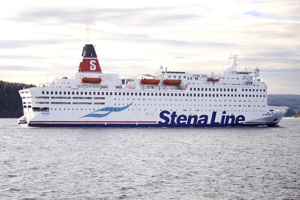 Stena Saga Photo: Alva Thylén