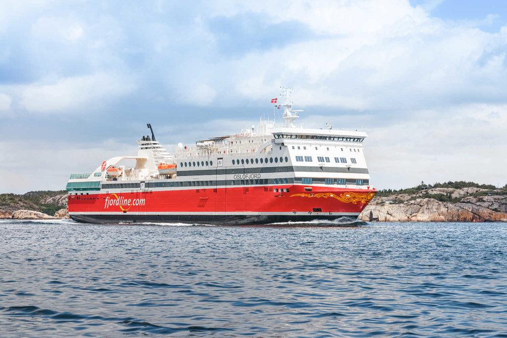 MS Oslofjord Photo: Fjordline/Fjordline