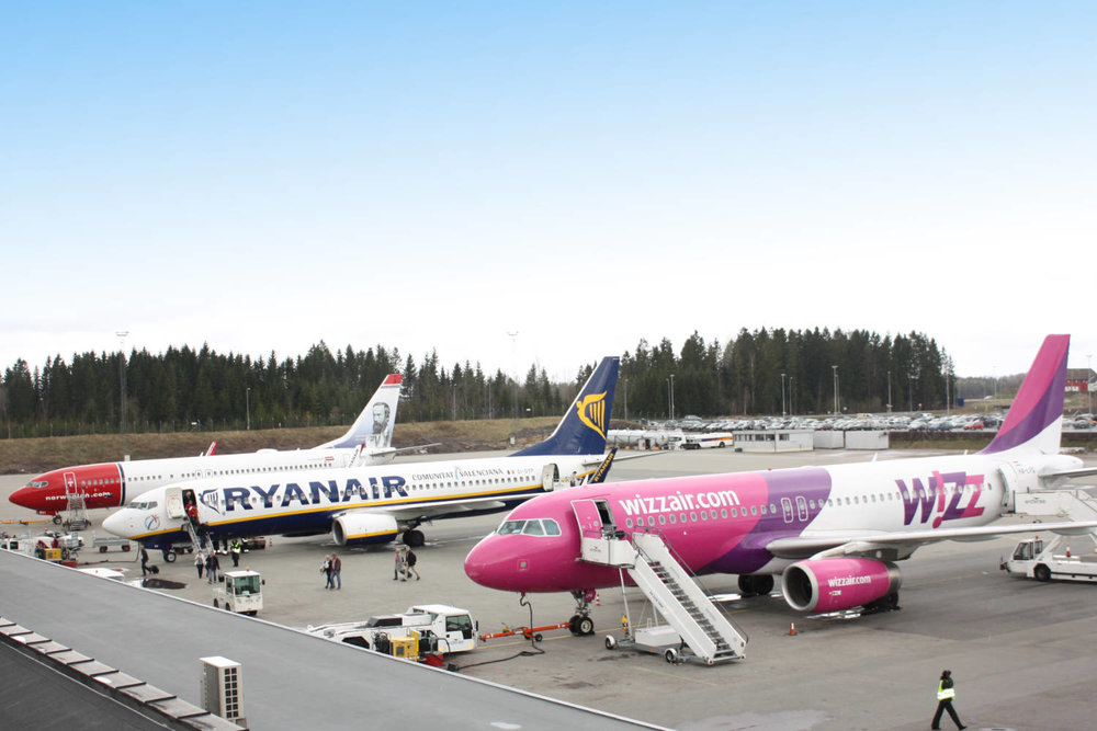 Photo: TORP Sandefjord lufthavn