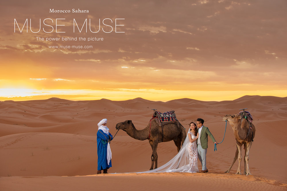 Muse Blog Updated : Elsa & Danny Morocco Sahara Pre-Wedding ( 2017 Oct 16-18 )