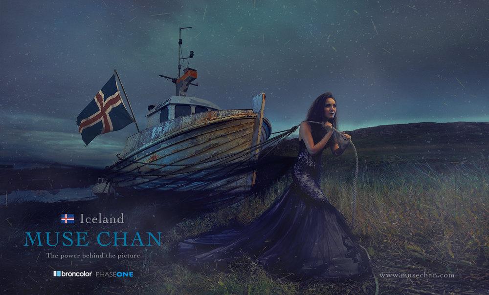 Muse Chan 個人創作作品 2017 - Iceland 冰島