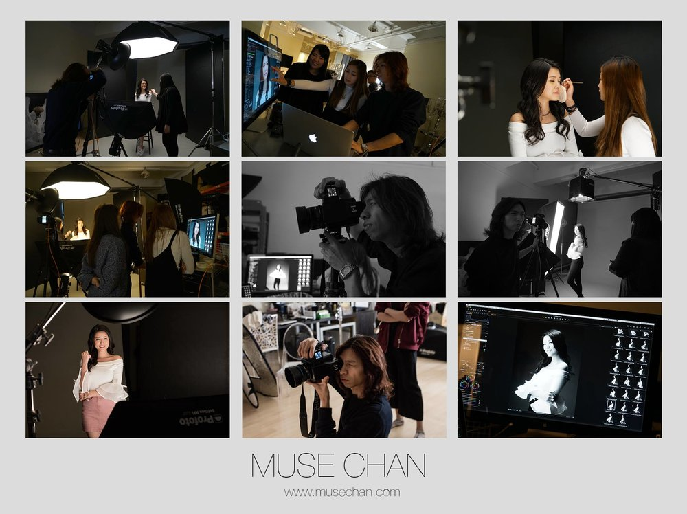 MUSE CHAN X 江嘉敏