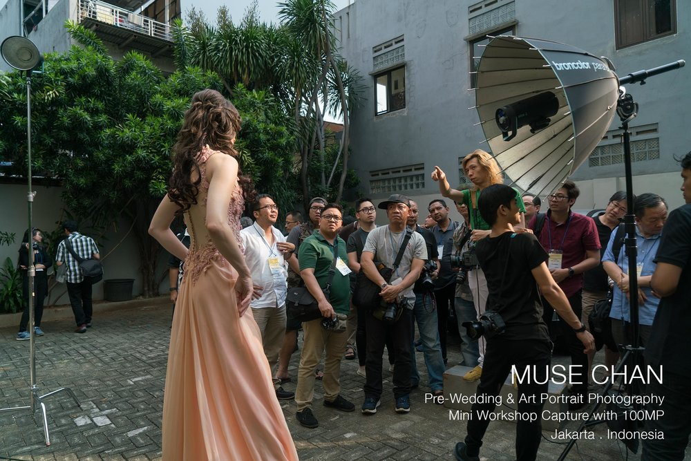 Muse Chan Photography Workshop - Jakarta
