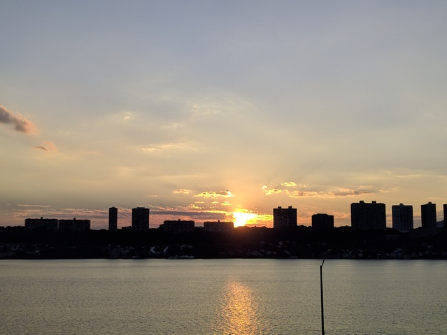 Riverside Drive Sunset