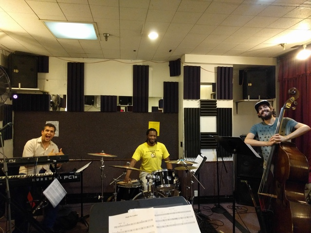 The Rhythm Section! Assaf Gleizner, Mark McLean, Ray Cetta