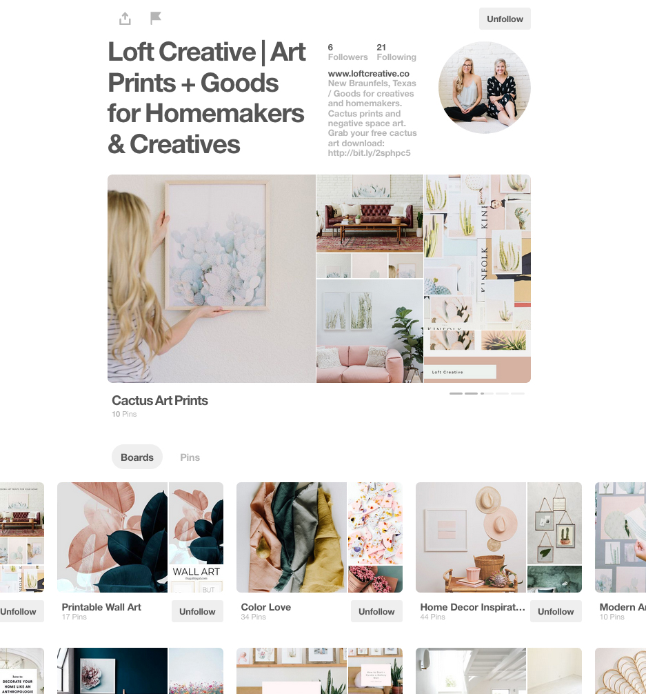 LOFT CREATIVE PINTEREST ACCOUNT.JPG