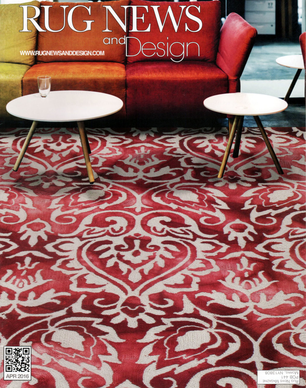 Rug News and Design   April 2016   How To Mix Paint and Wallpaper with Floor Patterns Like a Pro