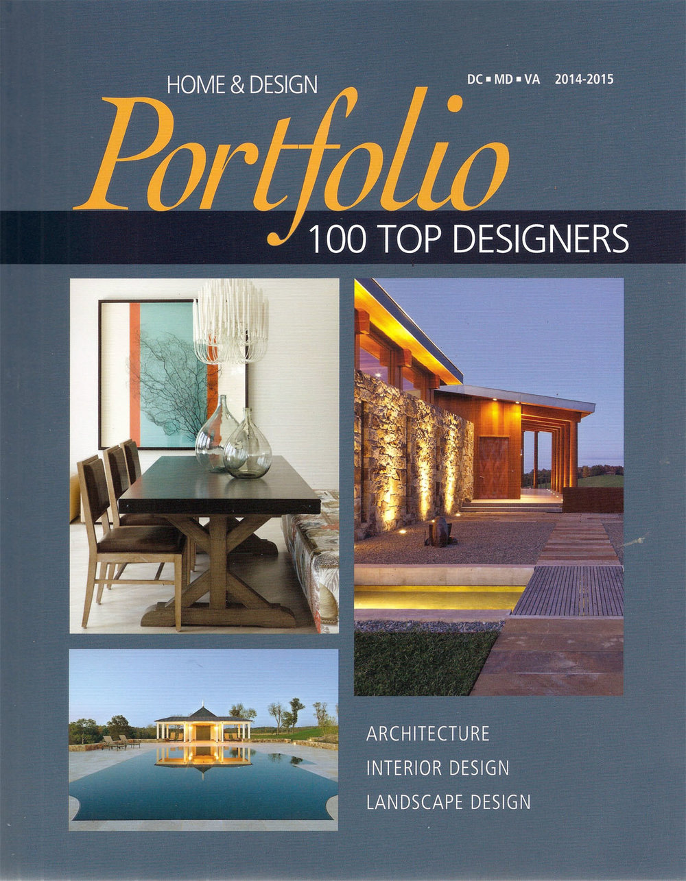 Home & Design      Portfolio   2014-15          100 Top Designers