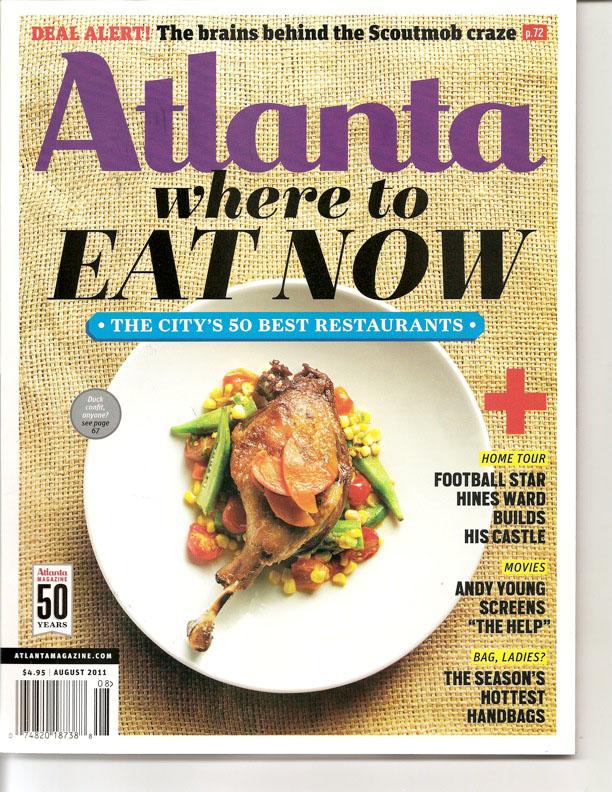 Atlanta Magazine August 2011