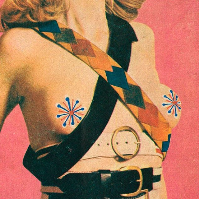 Inspiration from a 70's Thai magazine #freethenipple