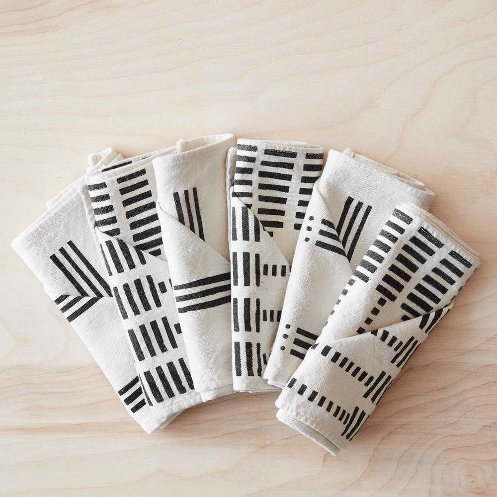 Citizenry Mud Cloth Napkins, $75