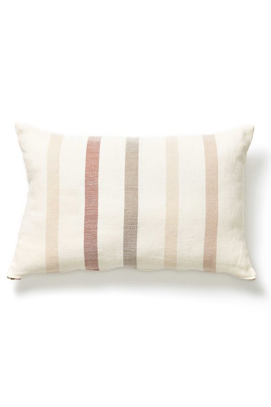 Minna Stripe Lumbar Pillow, $115