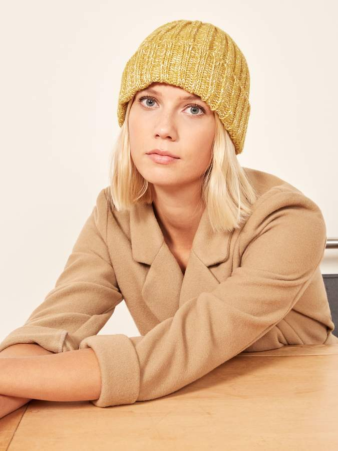 Yellow 108 Yurt Beanie, $28