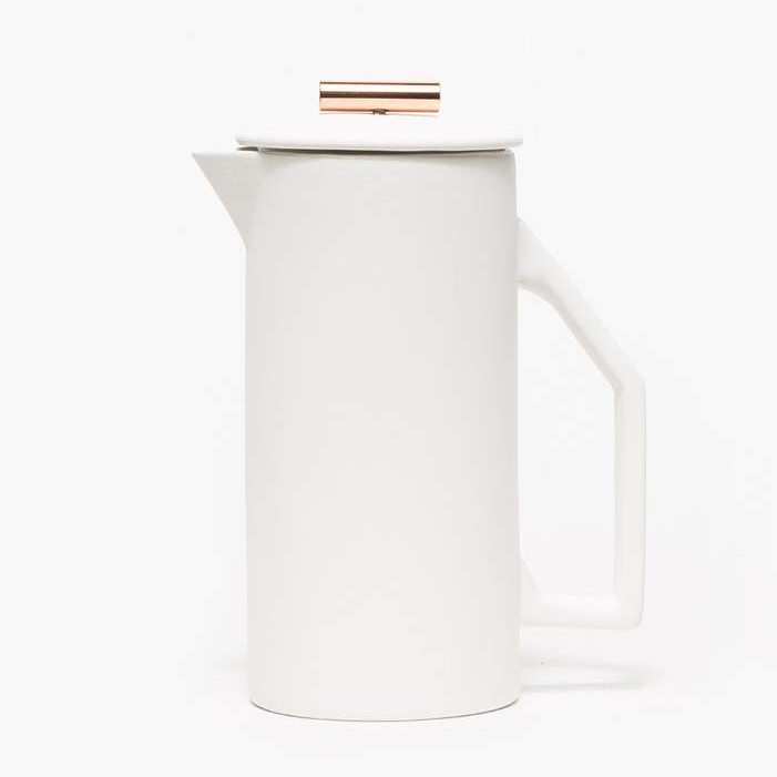 Yield Design Ceramic French Press, $120