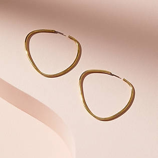 Soko Maxi Sabi Hoop Earrings, $58