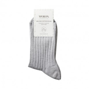 Woron Organic Cotton Socks, $20