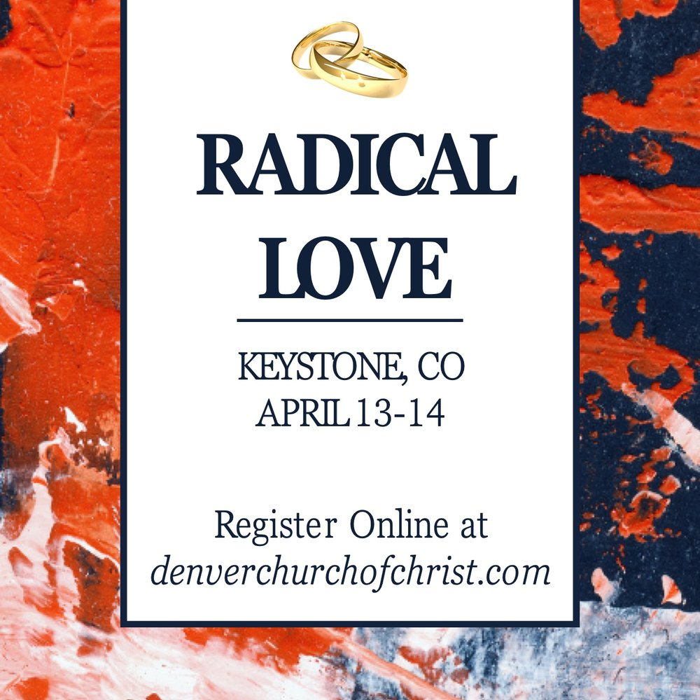 Marriage Retreat Registration - Click Here to register!Dates: April 13-14Check-in begins Saturday at 8:30am. Program starts at 10am on Saturday and will conclude on Sunday at noon.Location: Keystone Resort and Conference CenterFor Keystone managed properties call (888) 273-2502 and mention group discount code CG99DCCRoom Reservations must be made on or before Friday, March 29th 2019to guarantee availability.Group rates are available up to 3 days before and after the event.