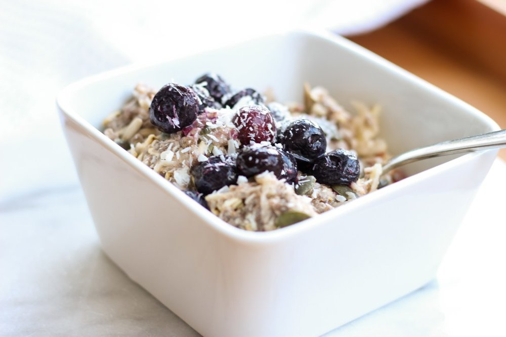 Chia and Oat Bircher Muesli