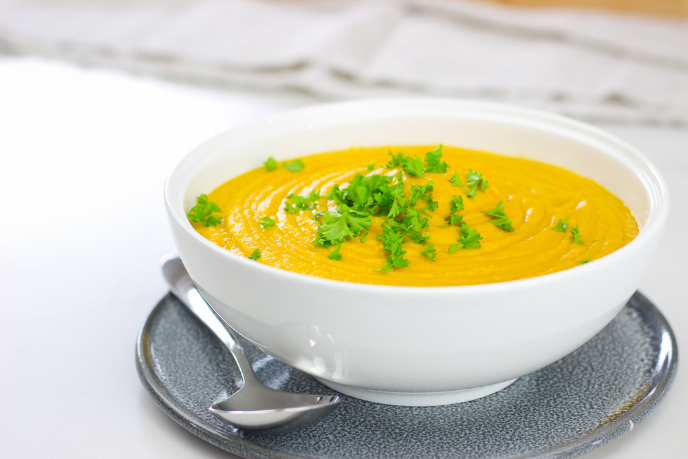 roast pumpkin and carrot soup