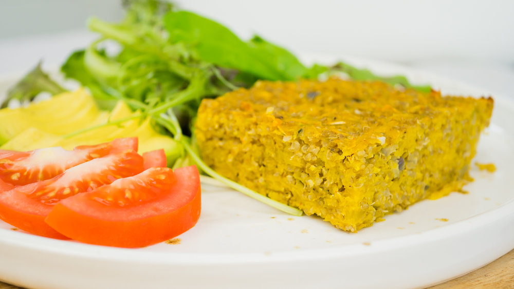 Quinoa & Pumpkin Bake