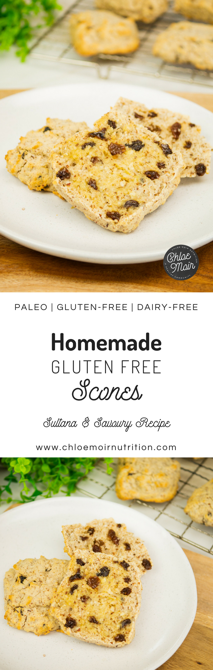 Homemade Gluten Free Scones