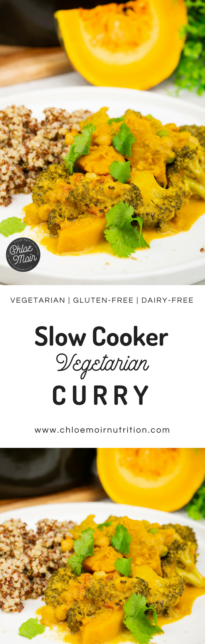 Slow Cooker Vegetarian Curry
