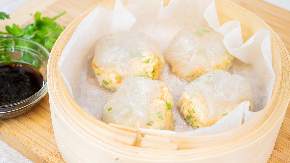 Chicken & Coriander Dumplings