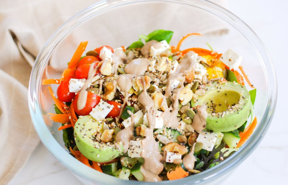 Easy Everyday Salad