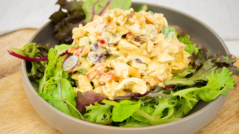 Curried Mayo Chicken Salad
