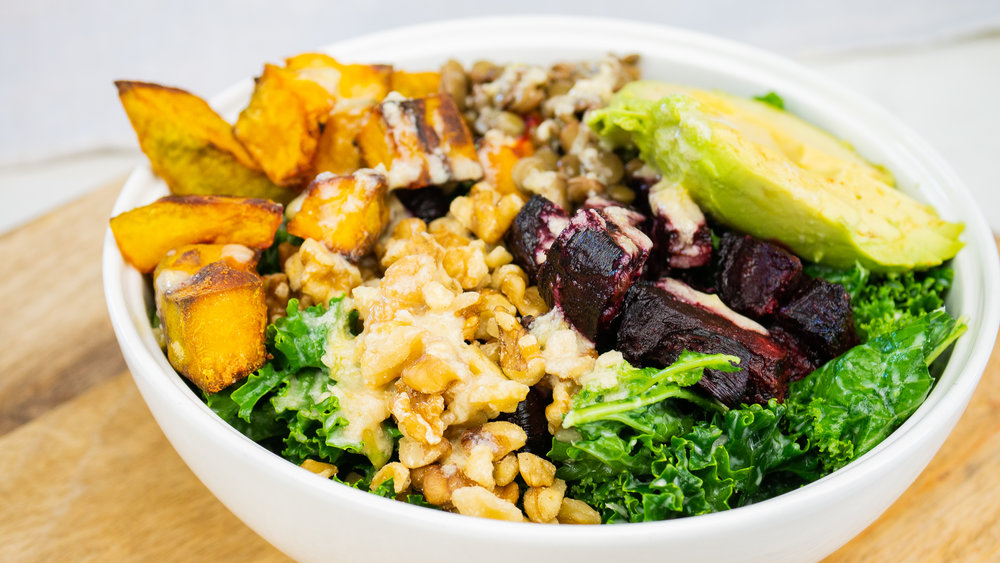 Roast Veggie Energy Bowl