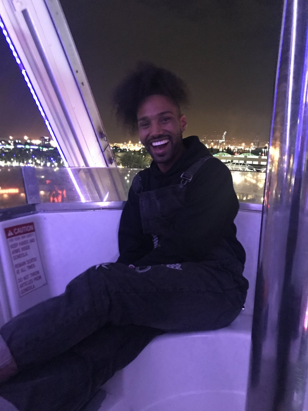 Wrapped Complex Con 2017 with a ride on the ferris wheel