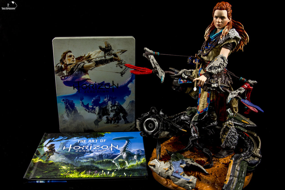 Horizon Zero Dawn's CE is finally here.  We take a look at whats in the box