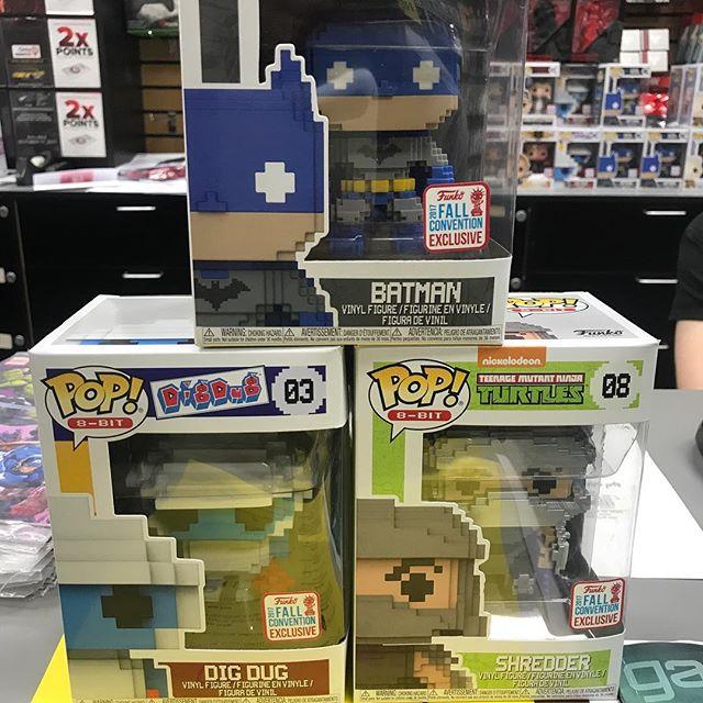 Today's haul!! @newyorkcomiccon . . . . #pop #funkopop #funkopop #batman #ninjaturtles #videogames #digdug