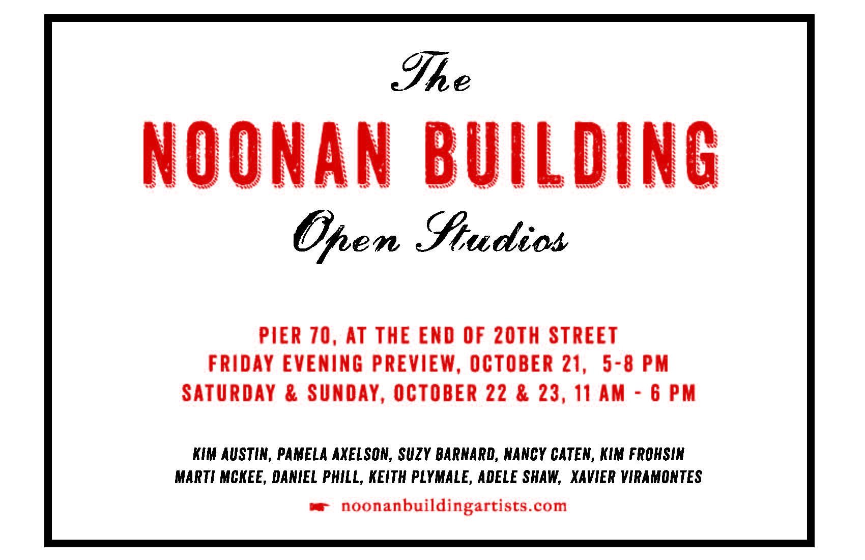 Noonan Building Open Studios